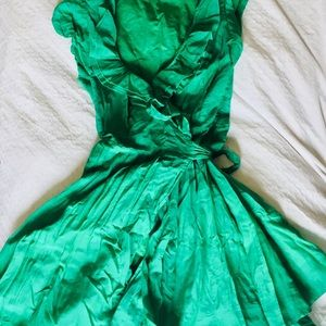 Beautiful Green Party Dress